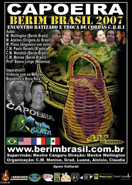 ENCONTRO CAPOEIRA BERIM BRASIL 2007