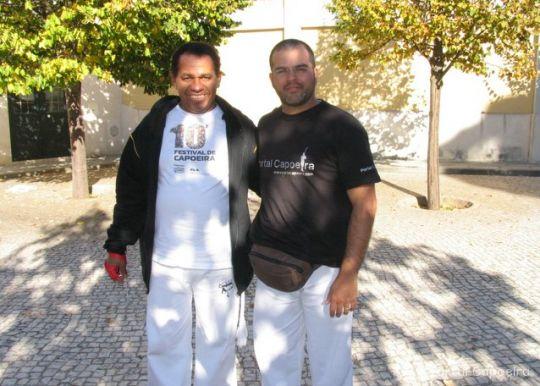 Portal Capoeira Entrevista Mestre Suino Conversando com o Mestre Mestres