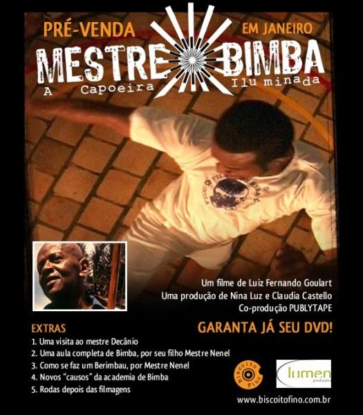 DVD Mestre Bimba a Capoeira Iluminada