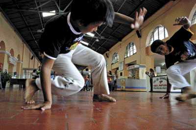 Portal Capoeira Capoeira & Campanha para combater o trabalho infantil Cidadania
