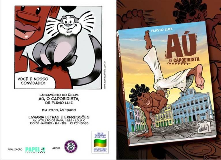 Portal Capoeira Lançamento: Aú o capoeirista Notícias - Atualidades