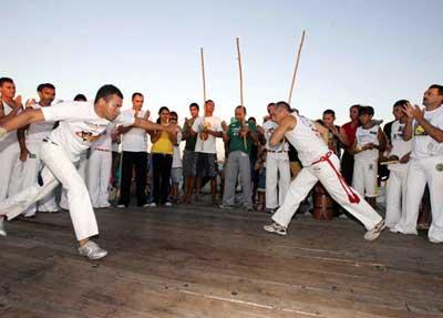 Portal Capoeira Cearense viaja para ensinar alemães Notícias - Atualidades