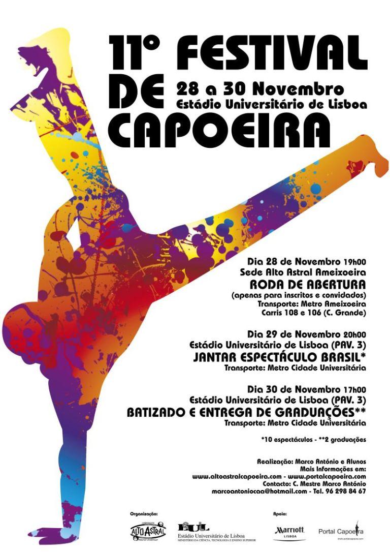 Portal Capoeira 11º Festival de Capoeira - Alto Astral Capoeira Eventos - Agenda