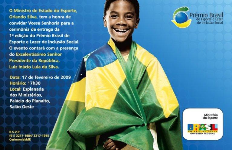 Portal Capoeira Prêmio Brasil de Esporte e Lazer de Inclusão Social Notícias - Atualidades