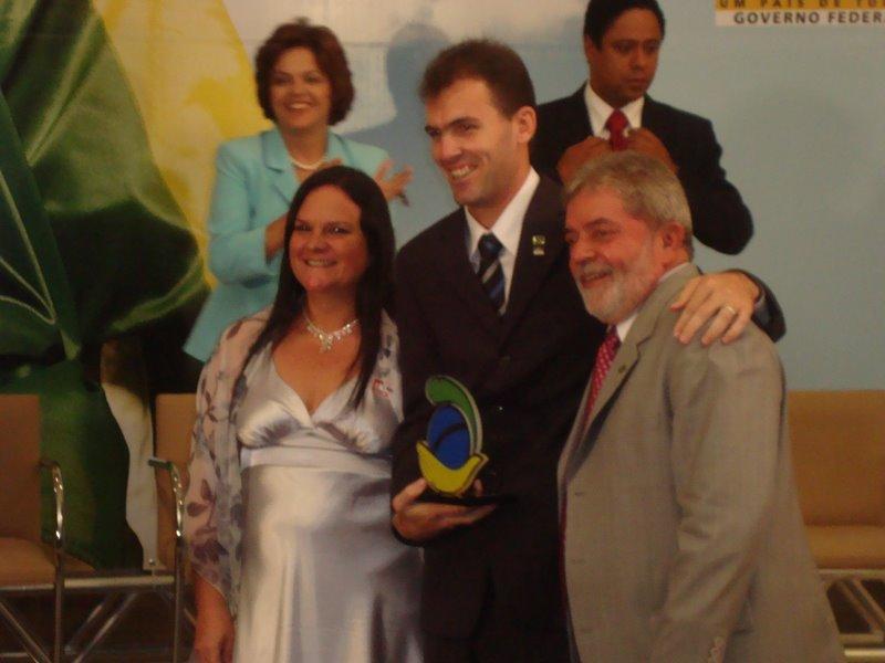 Presidente Lula e prof. Tchê