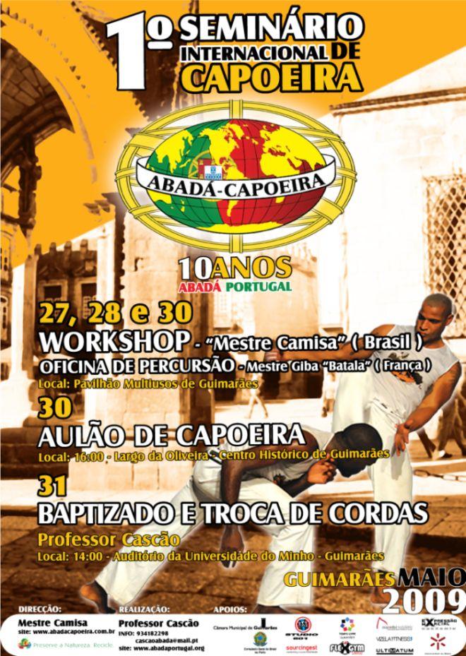 1º Seminario Internacional de Capoeira – 10 Anos Abadá Portugal