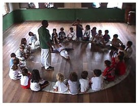 Portal Capoeira Pernambuco: Capoeira reintegra crianças e adolescentes especiais Cidadania