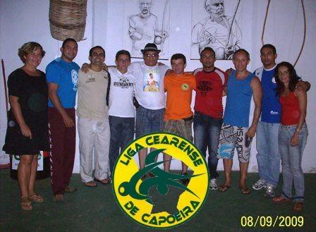 Portal Capoeira Ceará: Fundação da Liga Cearense de Capoeira Notícias - Atualidades