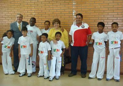 Portal Capoeira Poços de Caldas: Alunos do projeto PAI vão à Bahia Cidadania
