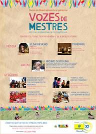 Projeto Vozes de Mestres será apresentado pela primeira vez em Curitiba