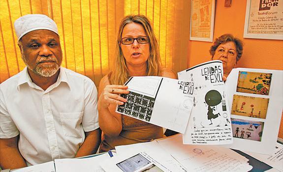 Portal Capoeira Livro sobre Exu causa guerra santa em escola municipal Cultura e Cidadania