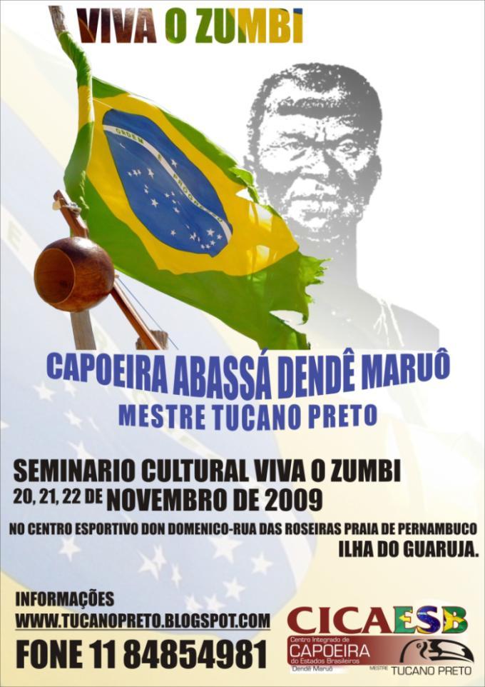 Portal Capoeira Viva ZUMBI 2009 Eventos - Agenda