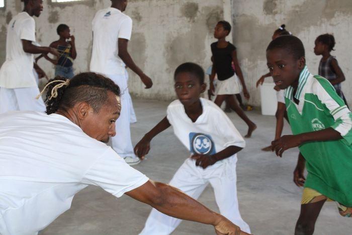 I Batizado e Entrega de Cordas do Projeto Gingando pela Paz no Haiti