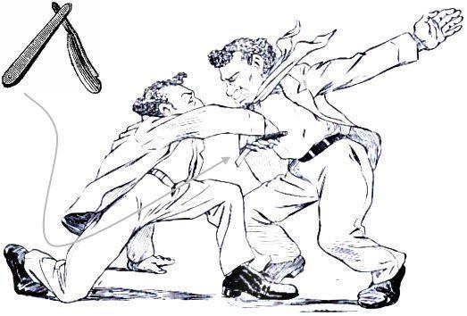 Portal Capoeira A Navalha na Capoeira Crônicas da Capoeiragem