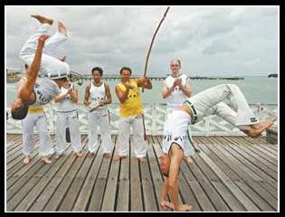 Portal Capoeira Batuque de cearense conquista holanda Notícias - Atualidades