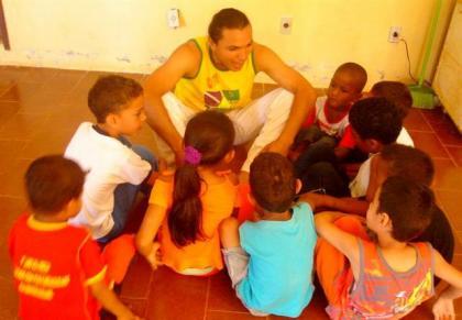Portal Capoeira Lapão: Capoeira muda vida de Jovens Cidadania