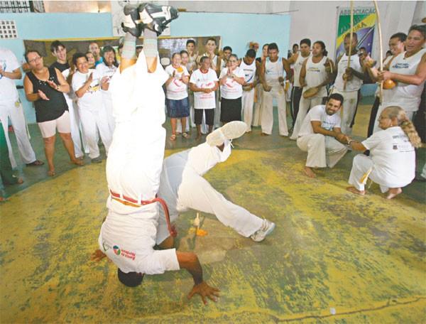 Portal Capoeira Ceará: 3ª edição do Tribos, Berimbaus e Tambores Cidadania
