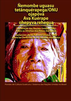 Portal Capoeira Cartilha Ilustrada da Declaração das Nações Unidas sobre os Direitos dos Povos Indígenas Cultura e Cidadania