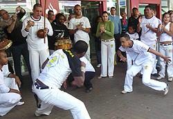 Portal Capoeira APAE Itupeva dá show de capoeira em Jundiaí Cidadania