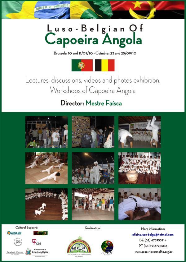 Portal Capoeira Oficina Luso-Belga de Capoeira Angola Eventos - Agenda