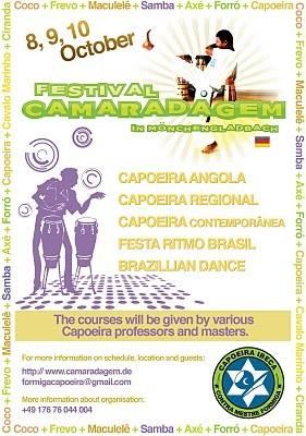Portal Capoeira Alemanha: CAMARADAGEM 2010 Eventos - Agenda