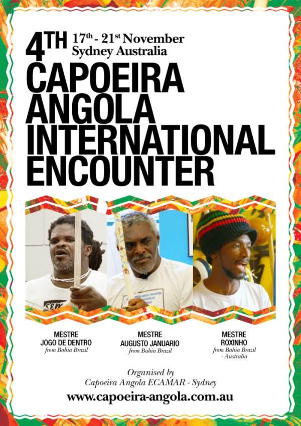 IVº Encontro Internacional de  Capoeira Angola