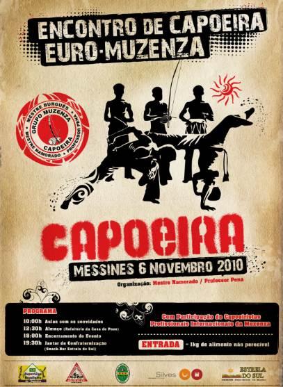 Portal Capoeira Portugal: Encontro Euro-Muzenza de Capoeira Eventos - Agenda