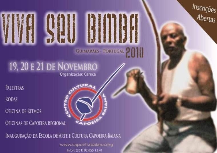 """Portal Capoeira Portugal: """"Viva Seu Bimba!!!"""" 2010 Eventos - Agenda"""