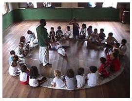 Portal Capoeira MS: Crianças de CG aprendem a ginga e a história da capoeira Cidadania