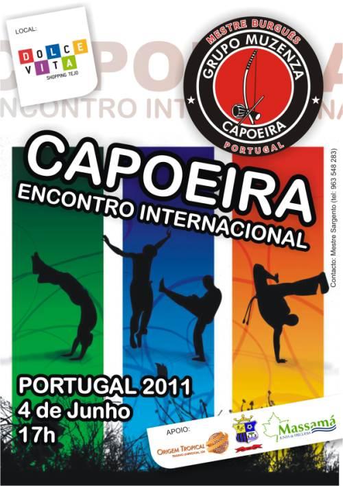 Portal Capoeira Muzenza: Encontro Internacional de Capoeira – Portugal/2011 Eventos - Agenda