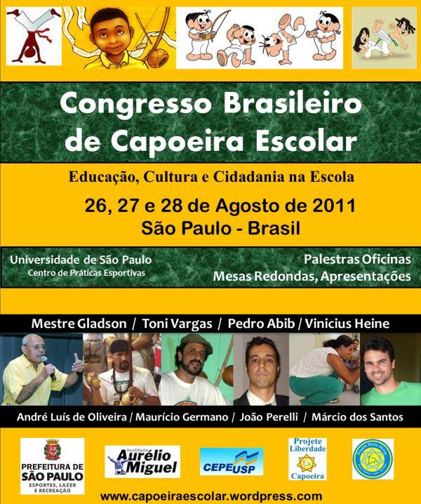 Portal Capoeira SP: Congresso Brasileiro de Capoeira Escolar Eventos - Agenda