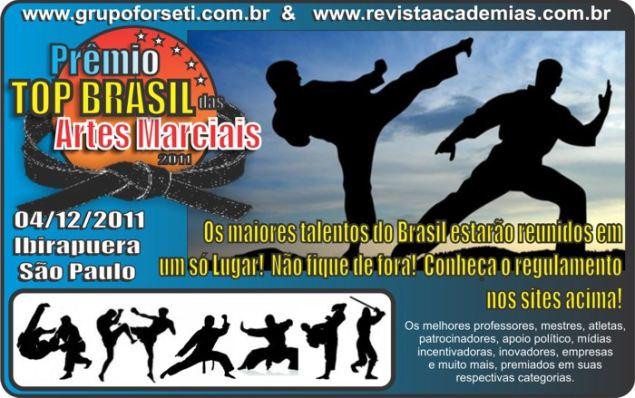 Portal Capoeira São Paulo: Prêmio Top Brasil de Artes Marciais Dicas, Curiosidades e Novas Tecnologias