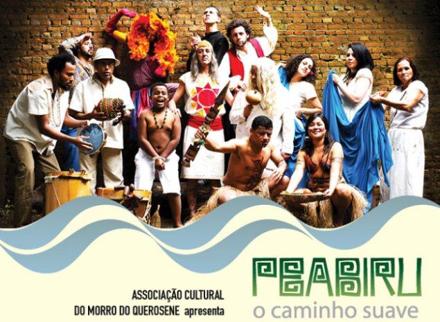 """Portal Capoeira Morro do Querosene realiza  Simpósio e Espetáculo Teatralpara falar da importância do """"Peabiru"""" Cultura e Cidadania"""