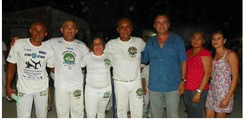 Portal Capoeira Massapê: II Batizado de Capoeira com alunos do PETI Cidadania
