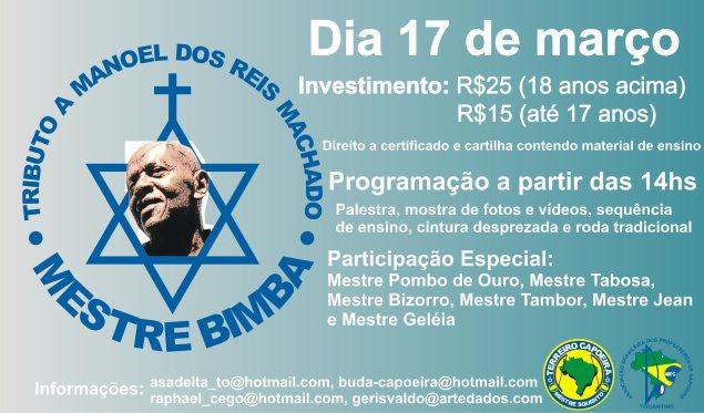 Portal Capoeira Tributo a Mestre Bimba Eventos - Agenda