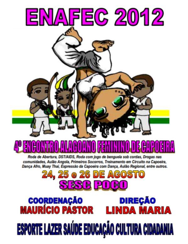 Portal Capoeira ENAFEC 2012 Capoeira Mulheres
