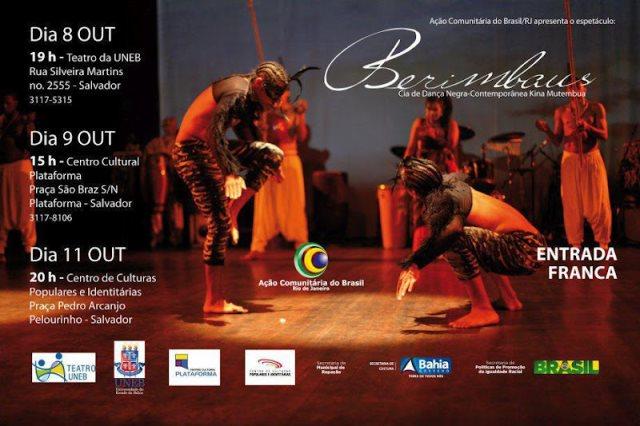 Portal Capoeira Cia. de Dança Negra-Contemporânea Kina Mutembua & Espetáculo Berimbaus Eventos - Agenda