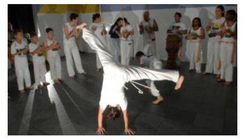 Portal Capoeira SP: Capoeira leva opção a morador da Zona Leste Cidadania