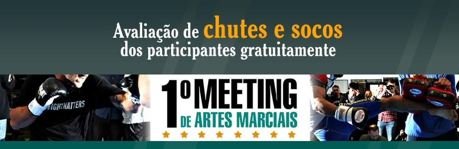 1.° Meeting Brasileiro de Ciências das Artes Marciais