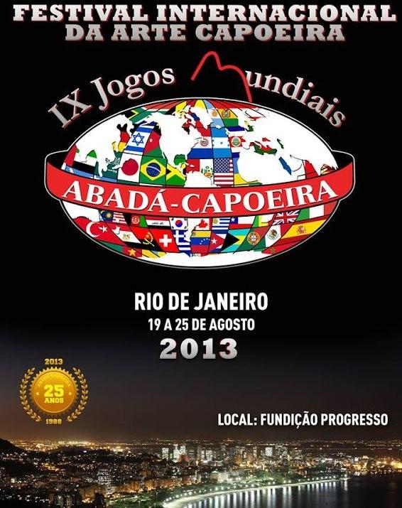 Portal Capoeira RJ: Festival Internacional da Arte Capoeira Eventos - Agenda