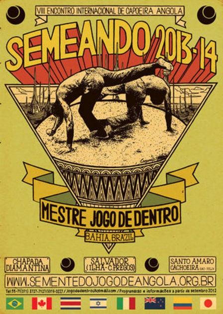 Portal Capoeira Semeando 2013/14 - VIII Encontro Internacional de Capoeira Angola Eventos - Agenda