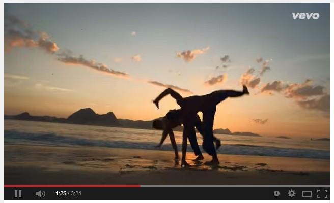 Portal Capoeira Ricky Martín lança clipe com Capoeira, Samba e Futebol Curiosidades