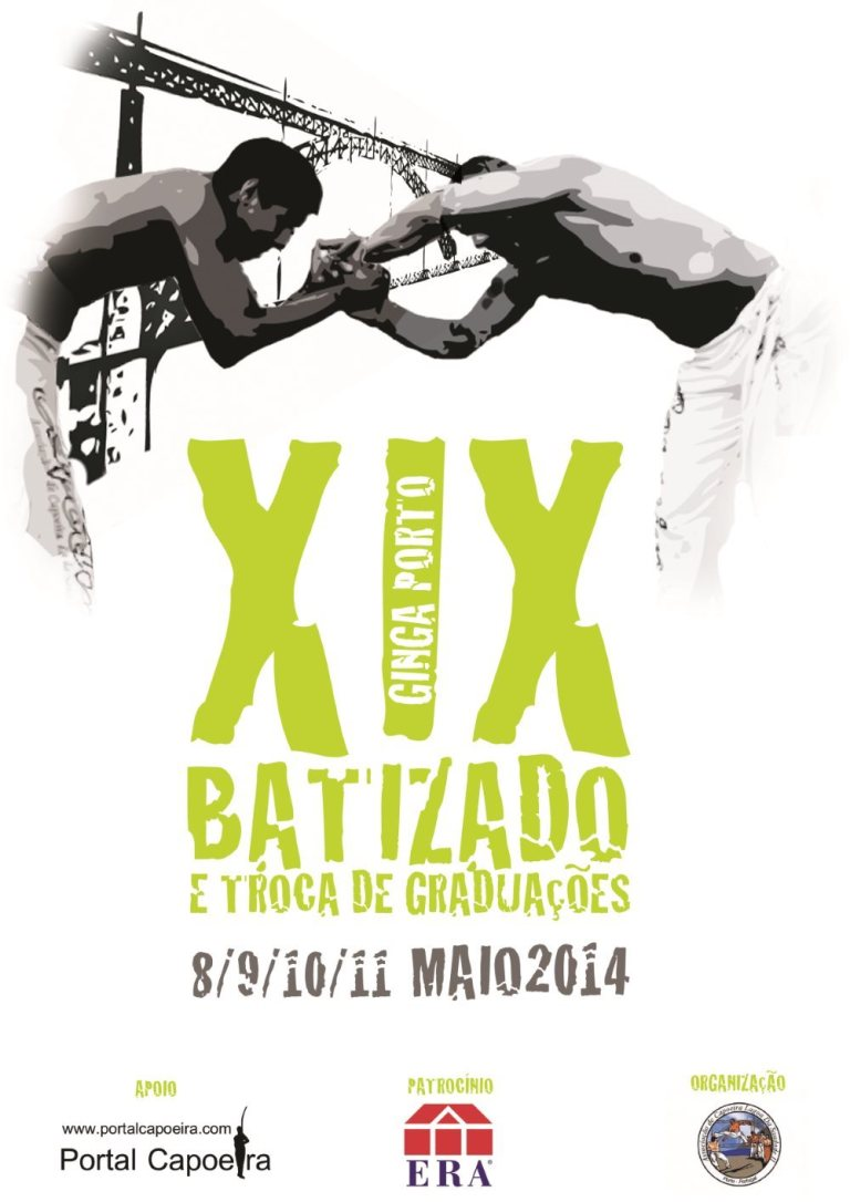 Portal Capoeira Ginga Porto Eventos - Agenda