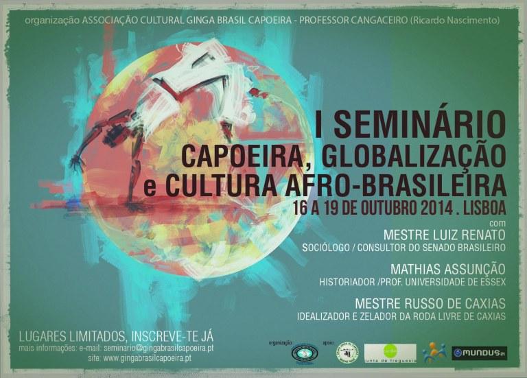 Portal Capoeira Lisboa: Seminário Capoeira e Globalização Eventos - Agenda