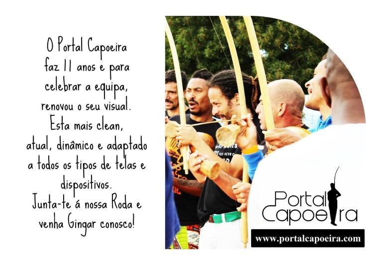 Portal Capoeira 11 Anos do Portal Capoeira Institucional Portal Capoeira