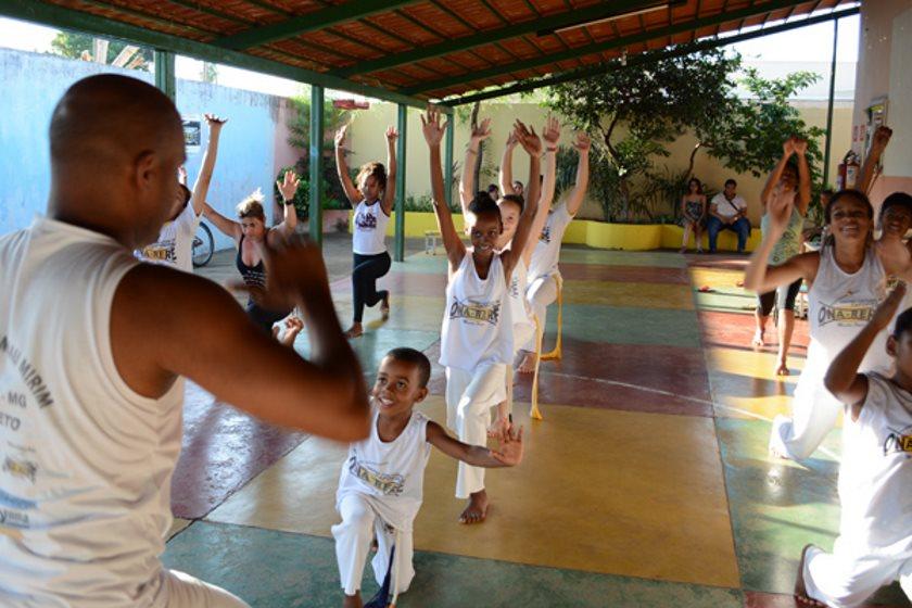 Portal Capoeira Atividades culturais no bairro Canaã tem vagas para crianças Cidadania
