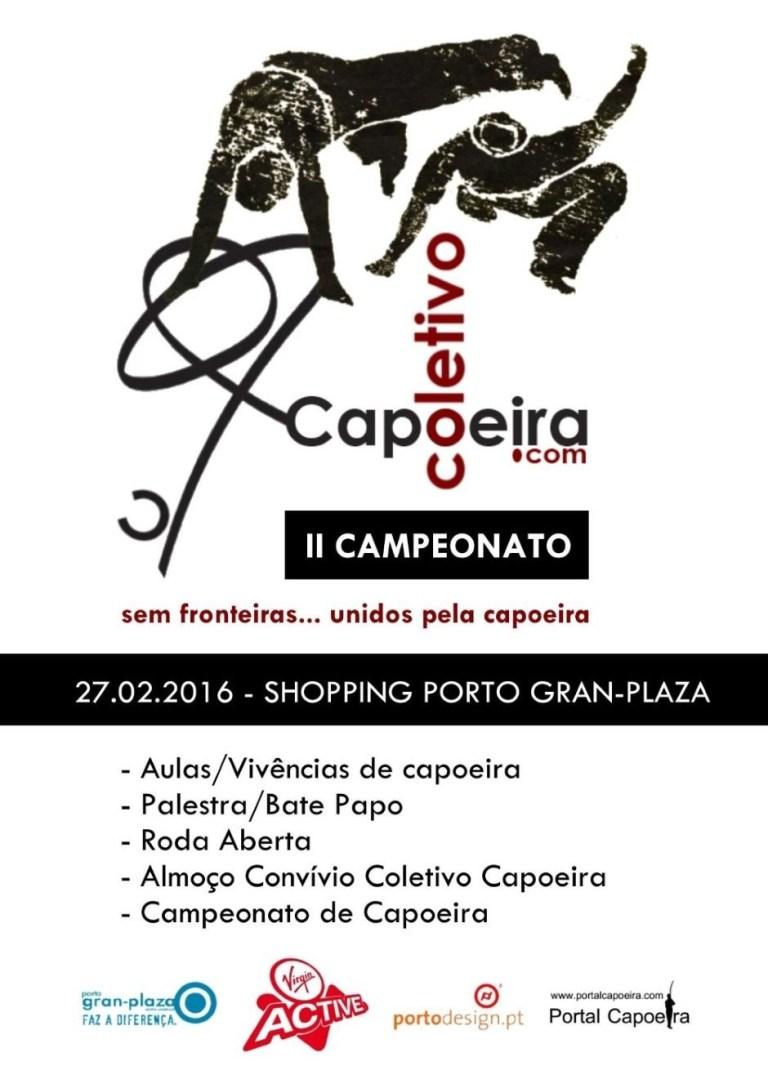 Portal Capoeira Porto: II Campeonato Coletivo Capoeira Eventos - Agenda