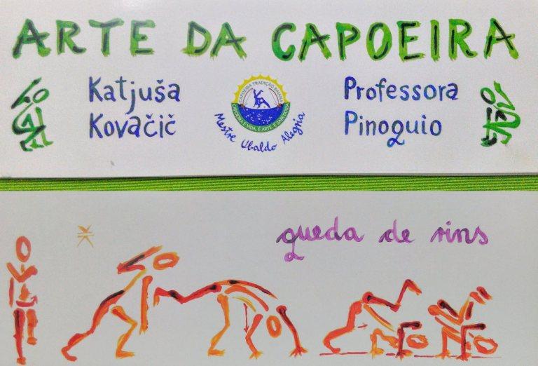"""Arte da Capoeira"" Livro & Ilustrações – Katjuša Pinoquio"
