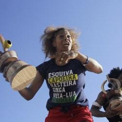 Bibinha e Gugu Quilombola, conquistam título do Red Bull Paranauê Capoeira 2