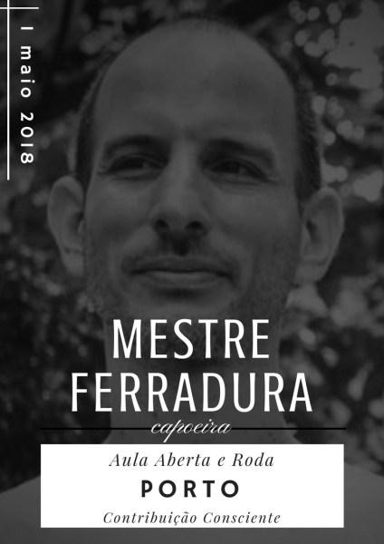 Mestre Ferradura em Portugal - Aula Aberta e Roda de Capoeira Capoeira Portal Capoeira 1